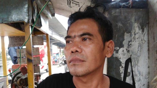 Asep Hidayat, saksi di lokasi kejadian.