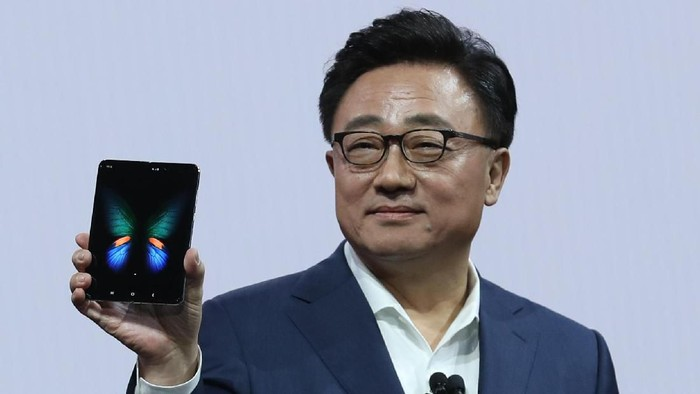 Samsung Galaxy Fold. Foto: Getty Images/Justin Sullivan