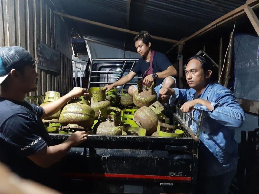 Polisi Tangkap Pencuri Ratusan Tabung Gas 3 Kg di Sinjai Sulsel