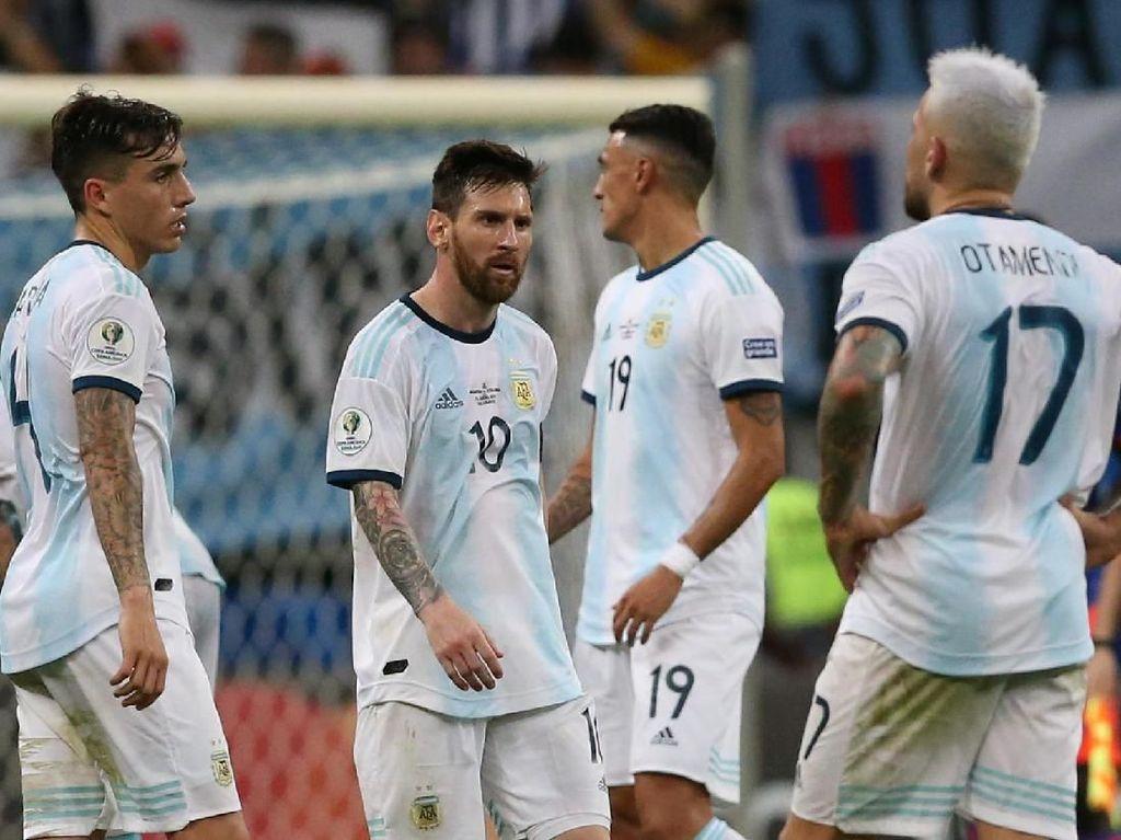 Messi Ingin Juara bersama Argentina, tapi Butuh Dukungan Tim