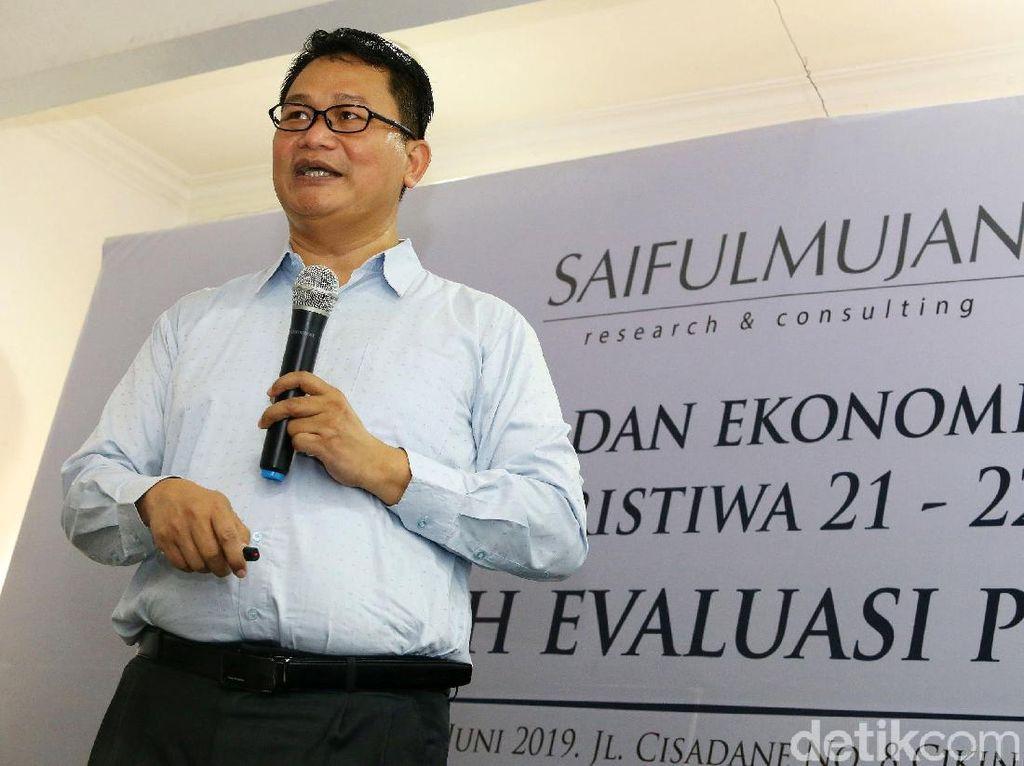 Survei SMRC 2 Tahun Jokowi-Maruf: 68,5% Puas, 29,5% Tidak