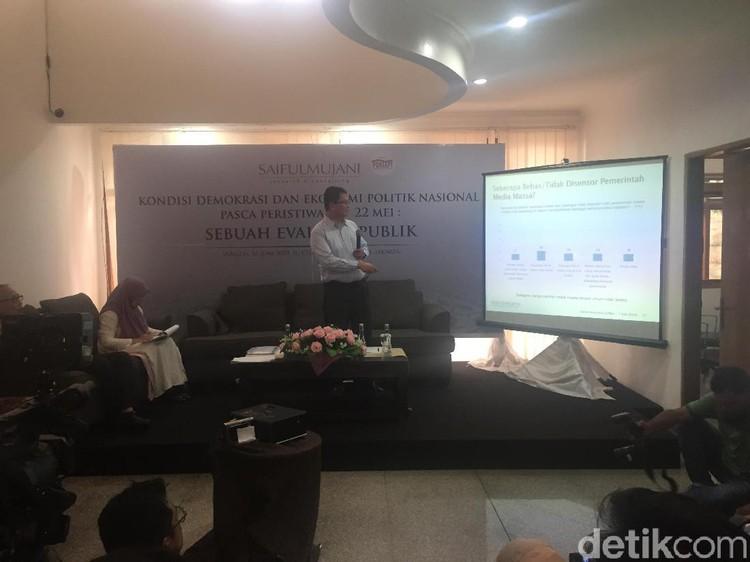 Survei SMRC: 69% Publik Menilai Pilpres 2019 Jurdil