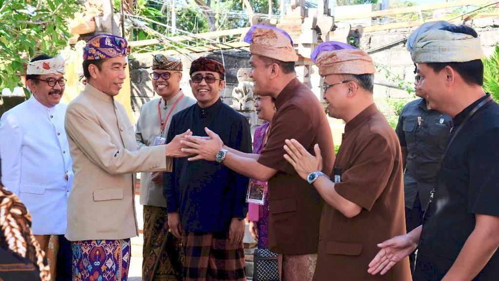 Jokowi Kunjungi Askrindo Denpasar