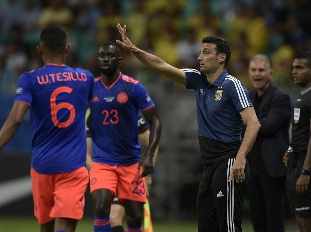 Argentina Dikalahkan Kolombia, Pelatih: Lapangannya Buruk