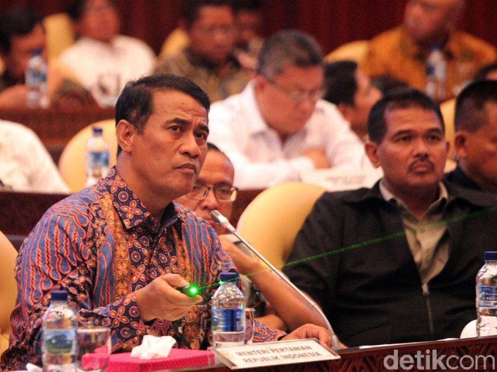 Mentan Amran Sulaiman dan DPR Raker Bahas Anggaran 2020