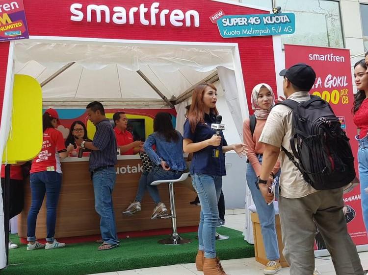 Pelanggan Smartren Hobi Streaming Saat Lebaran 2019