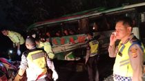 12 Orang Tewas di Tol Cipali, Polisi: Sopir Bus Diduga Ngantuk