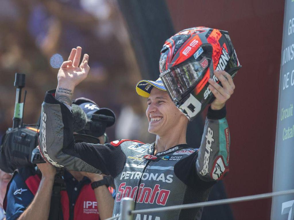 Quartararo Abaikan Rasa Sakit Akibat Operasi demi Podium MotoGP