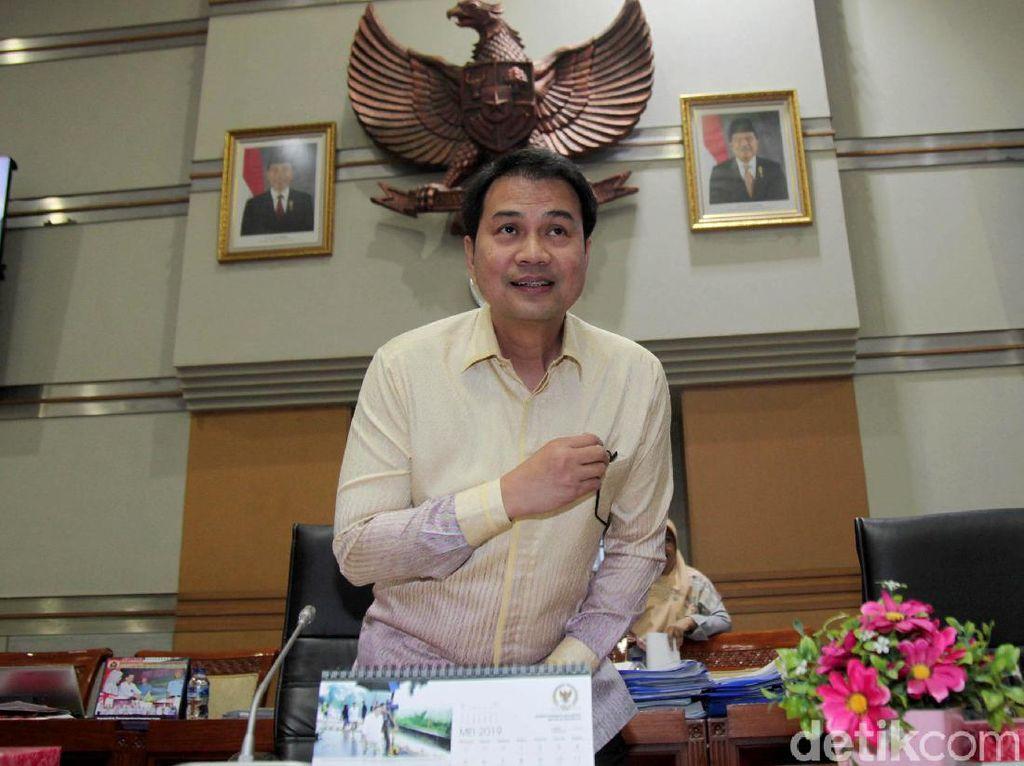 Azis Syamsuddin Duduki Kursi Bekas Fadli Zon di Pimpinan DPR