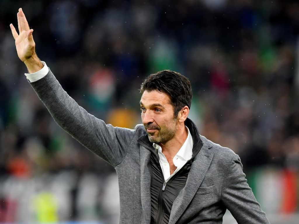 Presiden Juventus Belum Siap Kehilangan Buffon