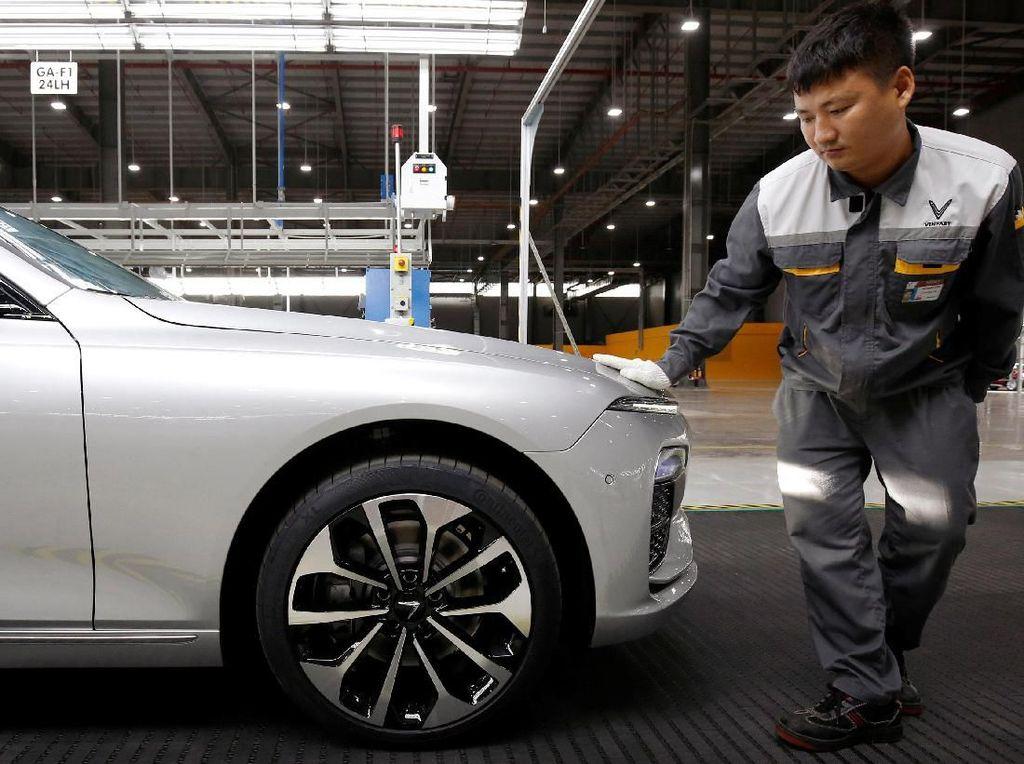 Canggih, Ini Fasilitas Produksi Mobil Nasional Vietnam