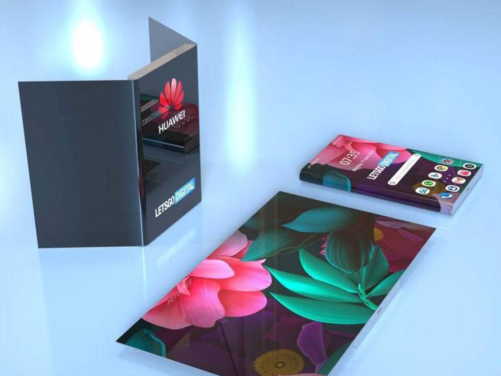 Bukti Baru Huawei Segera Rilis Ponsel Lipat Mate X2