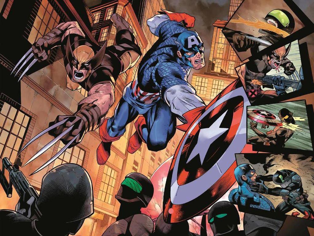 Ada Rahasia Apa Antara Wolverine dan Captain America Versi Komik?