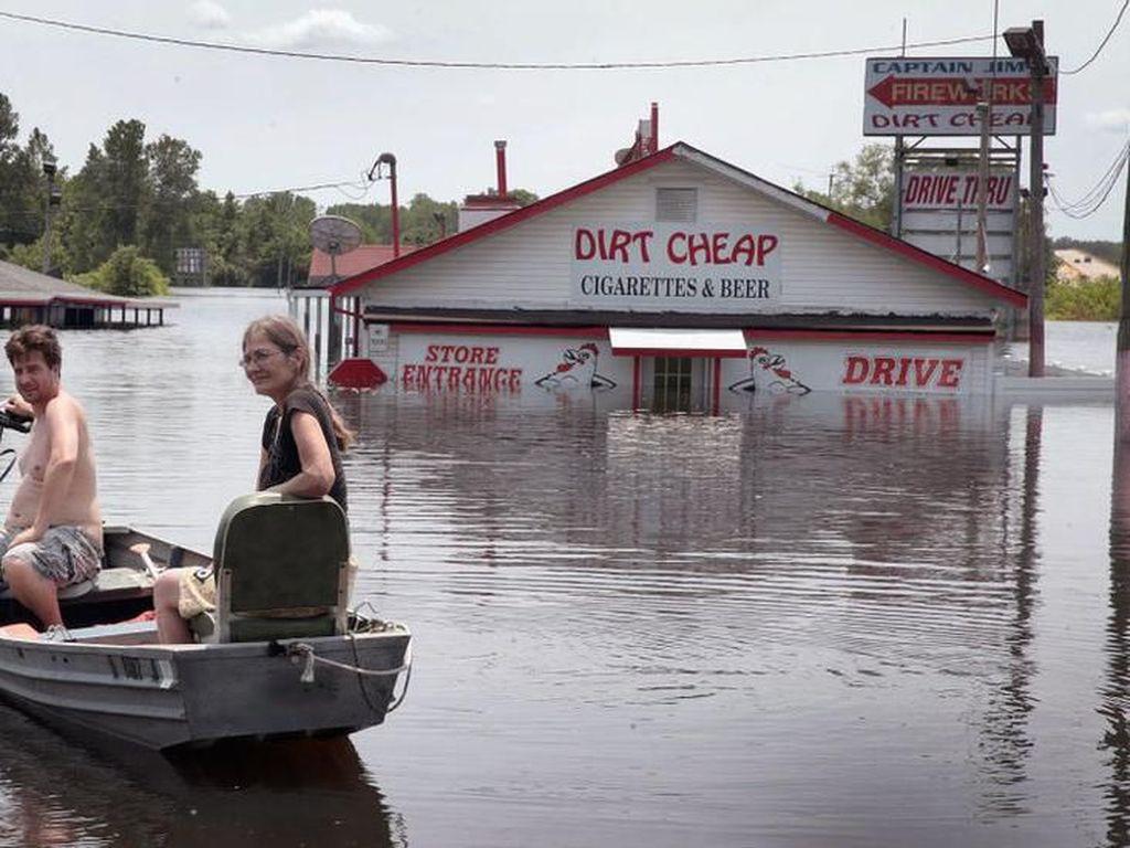 Wilayah Pedalaman Amerika Dilanda Banjir Selama Berbulan-bulan