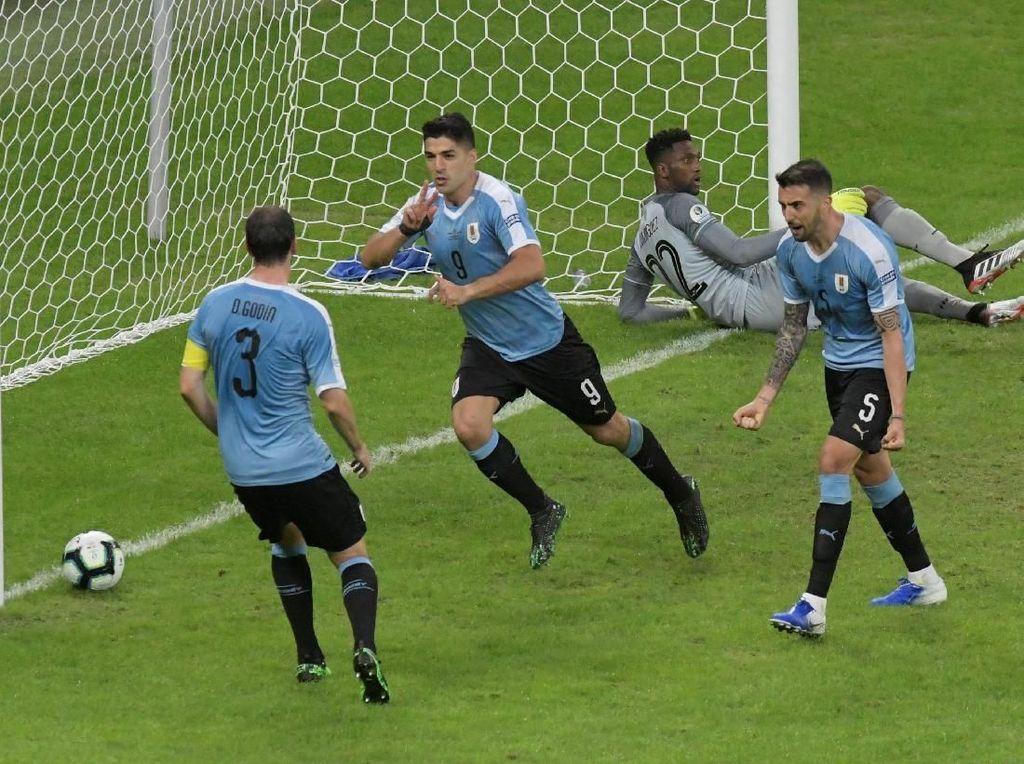 Copa America: Suarez dan Cavani Bikin Gol, Uruguay Hajar Ekuador