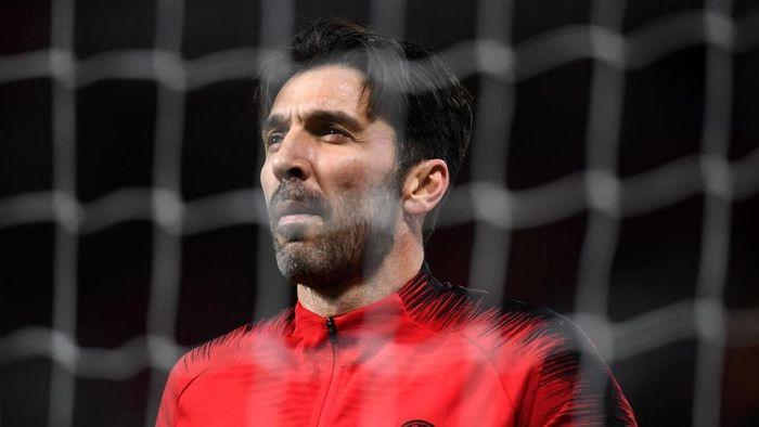 Gianluigi Buffon belum punya niat untuk pensiun (Foto: Michael Regan/Getty Images)