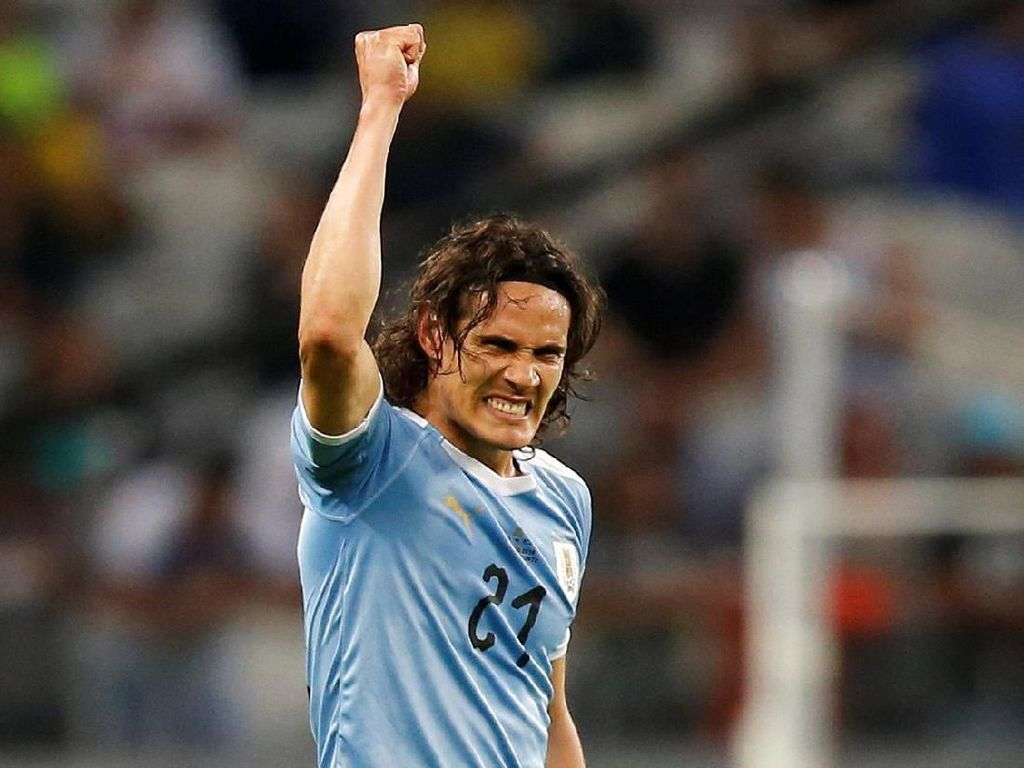 Uruguay atasi Ekuador 4-0