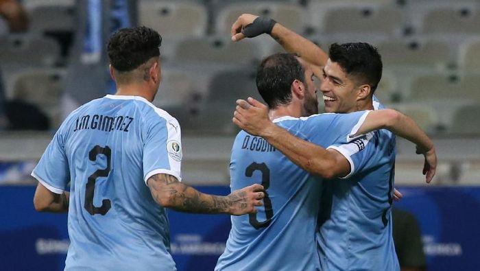 Timnas Uruguay pede bersaing dengan Brasil dan Argentina di Copa America 2019 (Edgard Garrido/REUTERS)