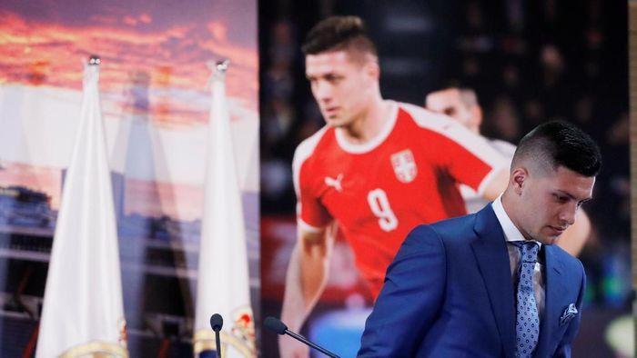 Luka Jovic menyatakan siap tampil untuk Real Madrid musim depan (Susana Vera/REUTERS)