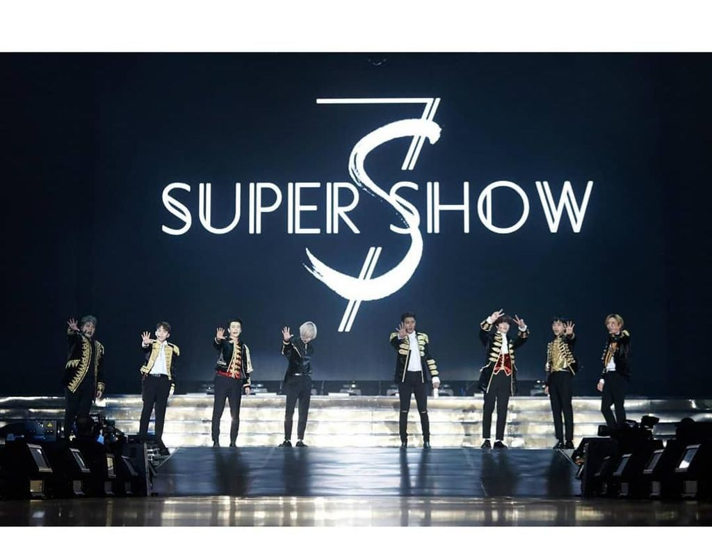 Perdana! Super Junior Gelar Konser di Arab Saudi