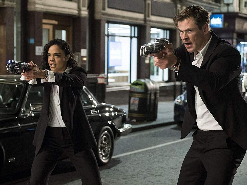 Bintangi Men in Black, Tessa Thompson Ngefans Sejak Usia 14 Tahun