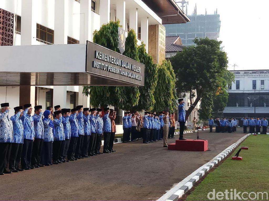 Pimpin Upacara di IPDN Jakarta, Mendagri: Jangan Ada Perkelahian Antar-praja
