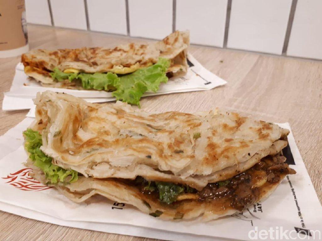 Liang Sandwich Bar: Nyam! Renyahnya Scallion Sandwich dengan Chicken Bolognese