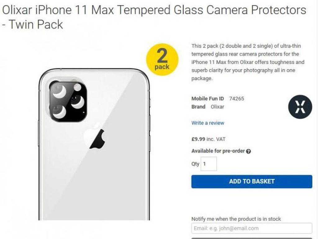 Penegas iPhone 11 Memang Punya Bingkai Kamera Belakang Kotak