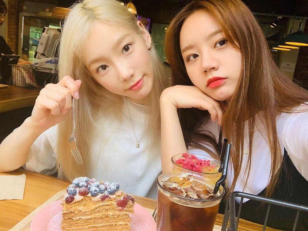 Berjuang Lawan Depresi, Intip Kembali Pose Kuliner Taeyeon SNSD Ceria Ini