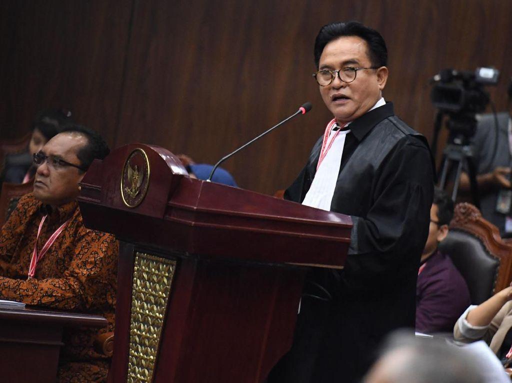 Tim Jokowi Pertimbangkan Hanya Hadirkan Ahli di Sidang MK Besok