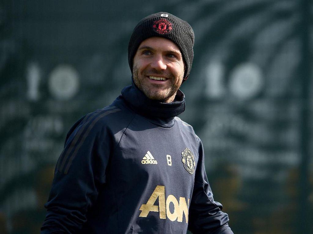 Juan Mata 90% Bertahan di Manchester United