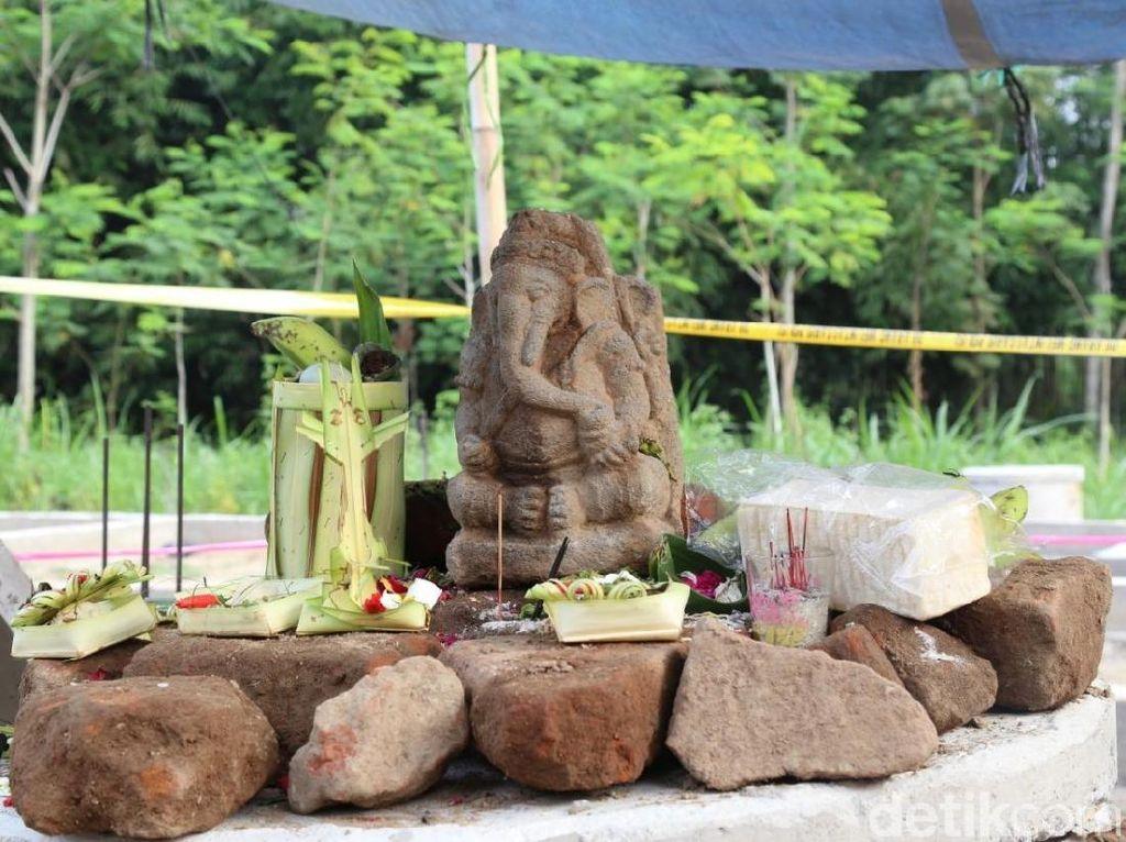 Arca Ganesha Ditemukan di Kediri Diduga dari Masa Kerajaan Kahuripan