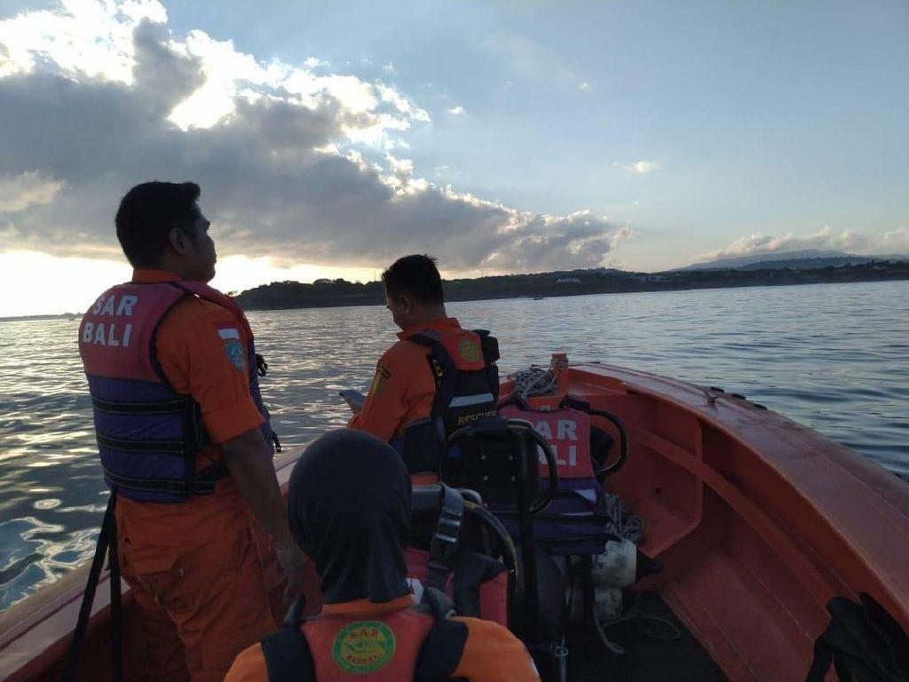 WN Amerika yang Hanyut Saat Main Paddle Board di Bali Belum Ditemukan