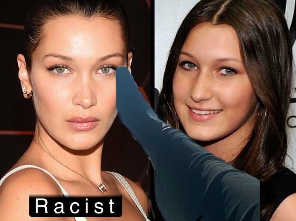 Protes Netizen Usai Isu Rasis yang Dilakukan Bella Hadid