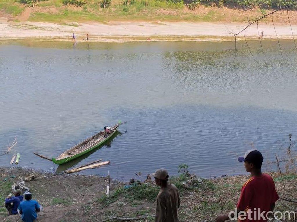 Berenang Seberangi Sungai Bengawan Solo, Warga Blora Hilang