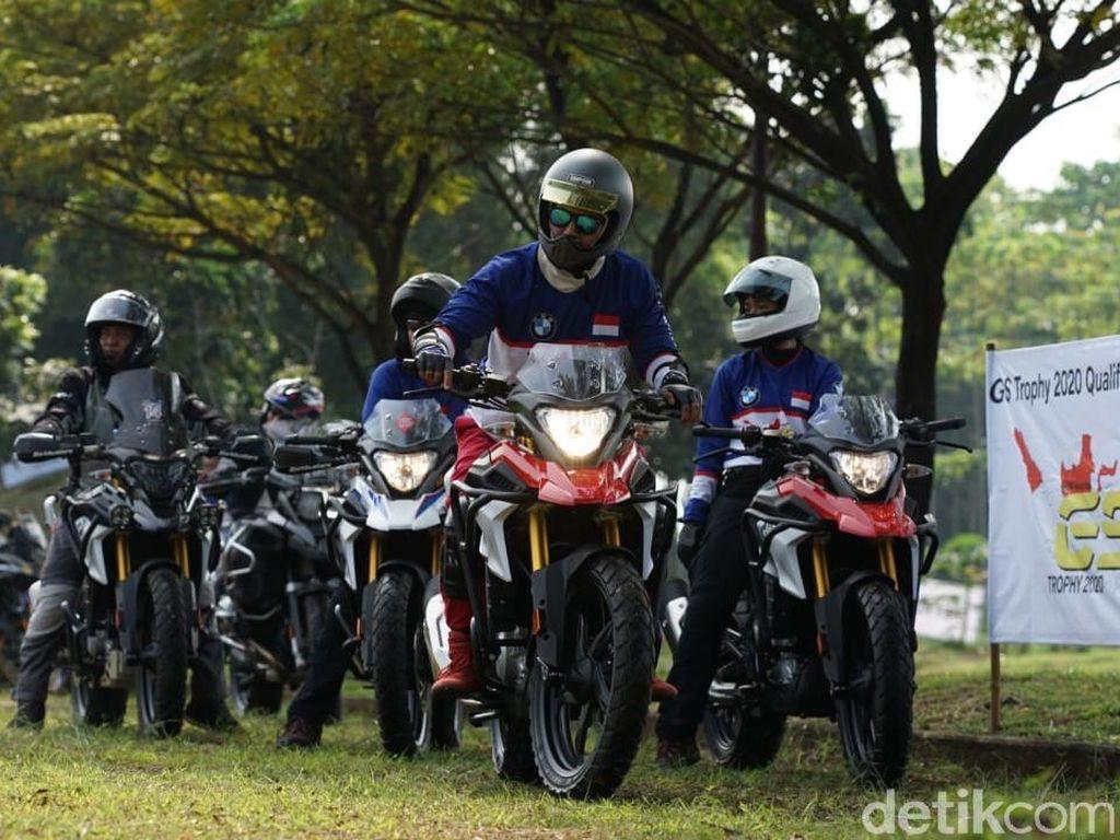 Latihan untuk Bikers Petualang