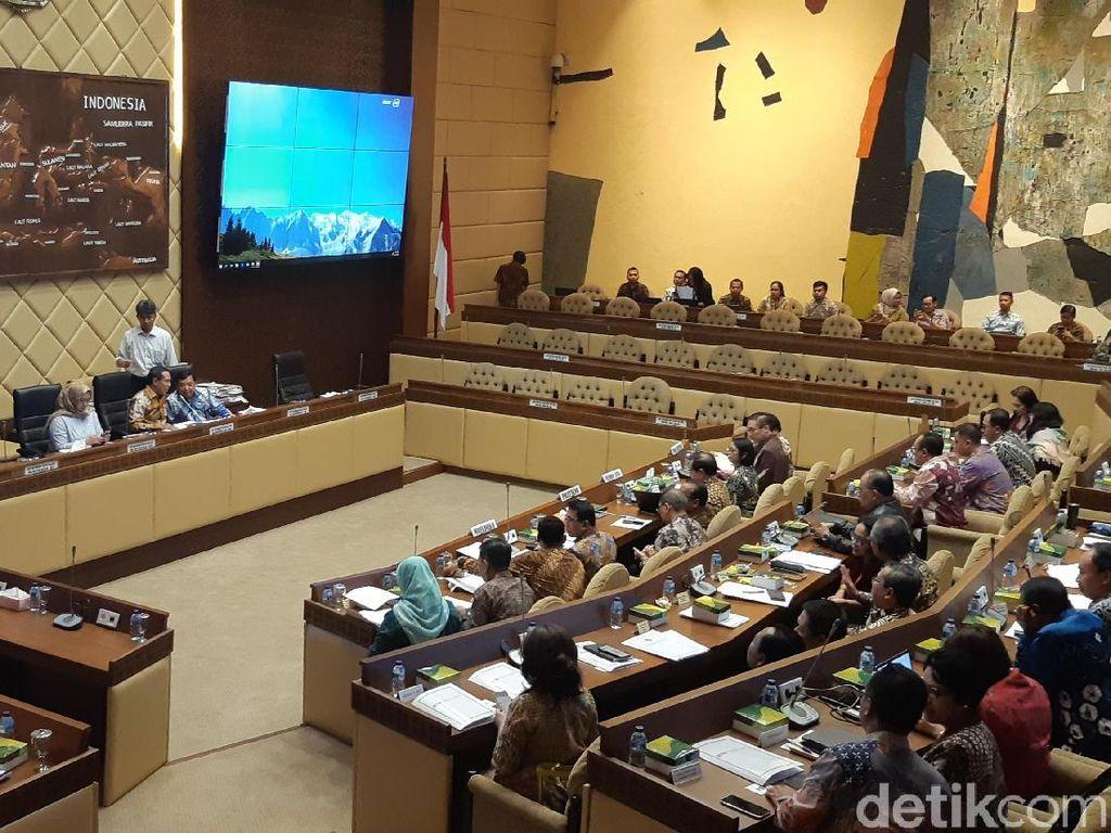 Rapat di DPR, Setneg Ajukan Anggaran Tahun 2020 Rp 2,7 Triliun