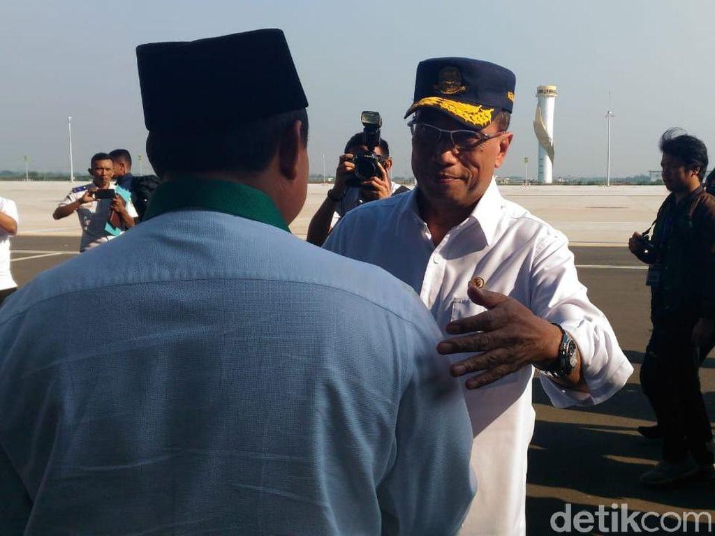 Menhub Cek Perpindahan Penerbangan Komersial di Bandara Kertajati