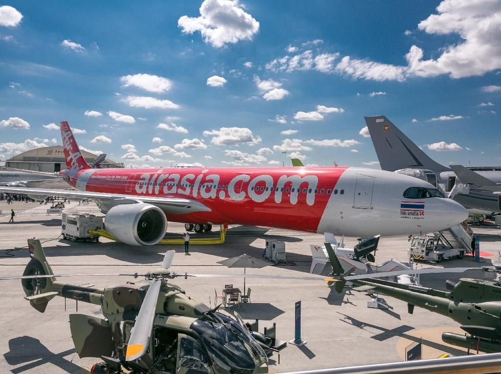 Pesawat Super Irit AirAsia akan Layani Rute Bangkok-Brisbane