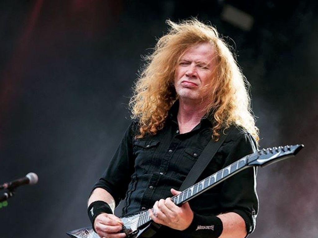 Dave Mustaine Idap Kanker Tenggorokan, Bagaimana Nasib Konser Megadeth?