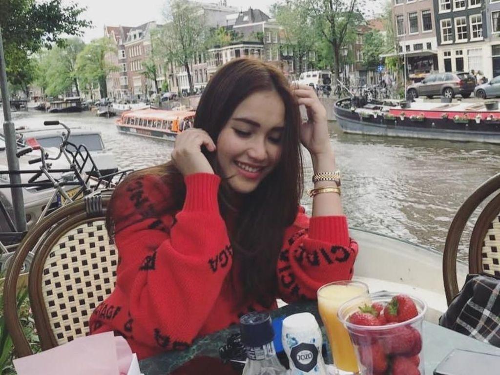 Ayu Ting Ting Makan Bakso di Amsterdam hingga  Kulineran Ratu Kecantikan Filipina