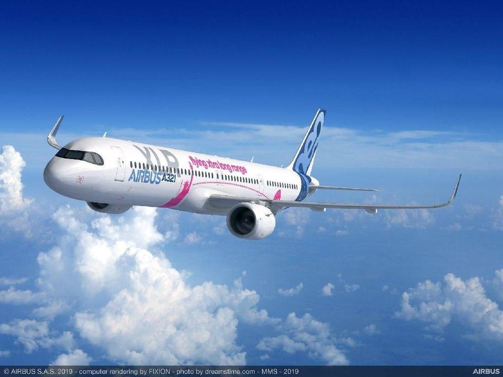 Ini Penampakan Pesawat Super Irit Airbus Terbaru