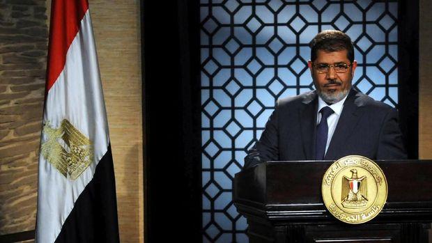 Mursi, Presiden Sipil Pertama Mesir Temui Ajal di Pengadilan