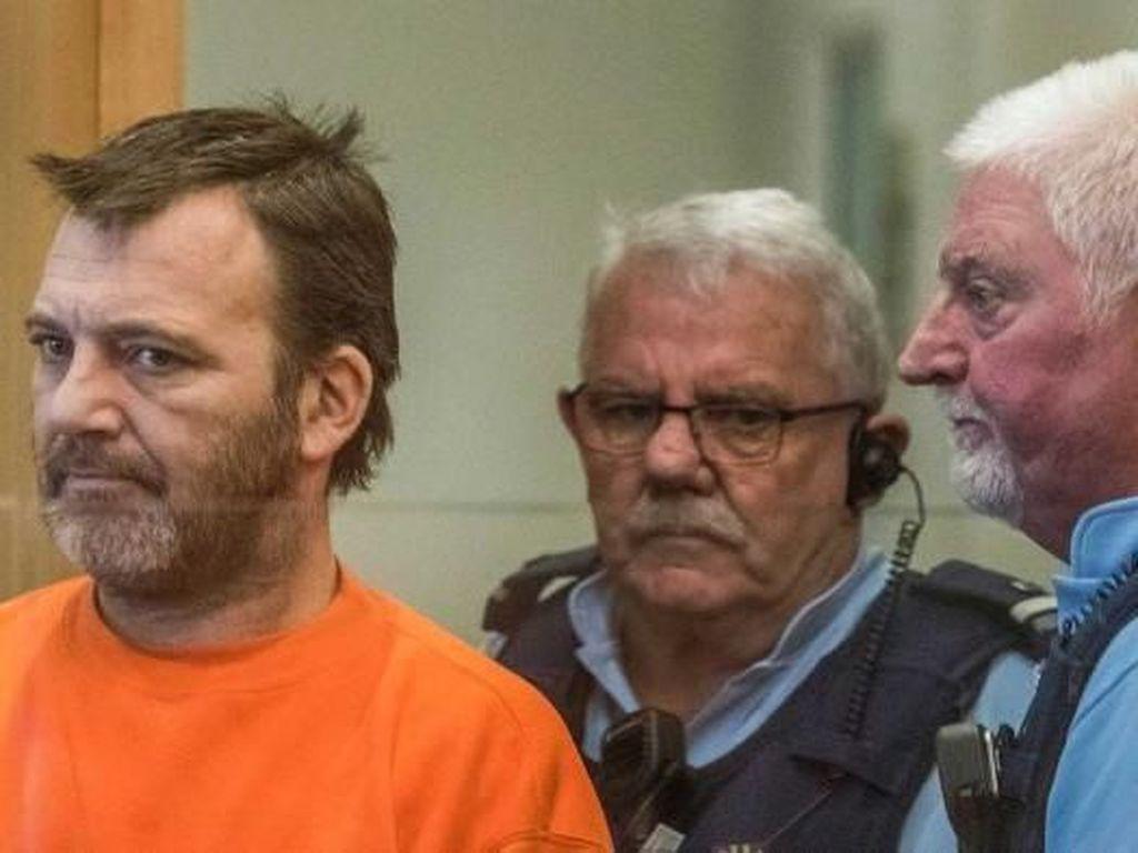 Pria Penyebar Video Pembantaian Christchurch Dibui 21 Bulan