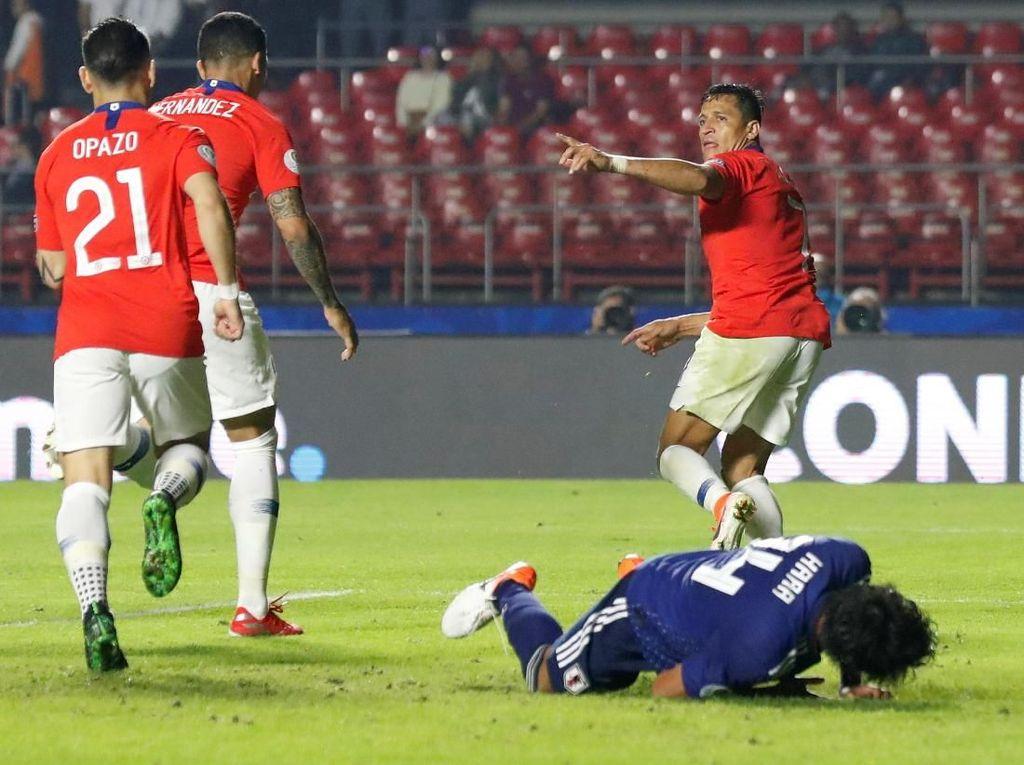 Hasil Copa America: Chile Hajar Jepang 4-0