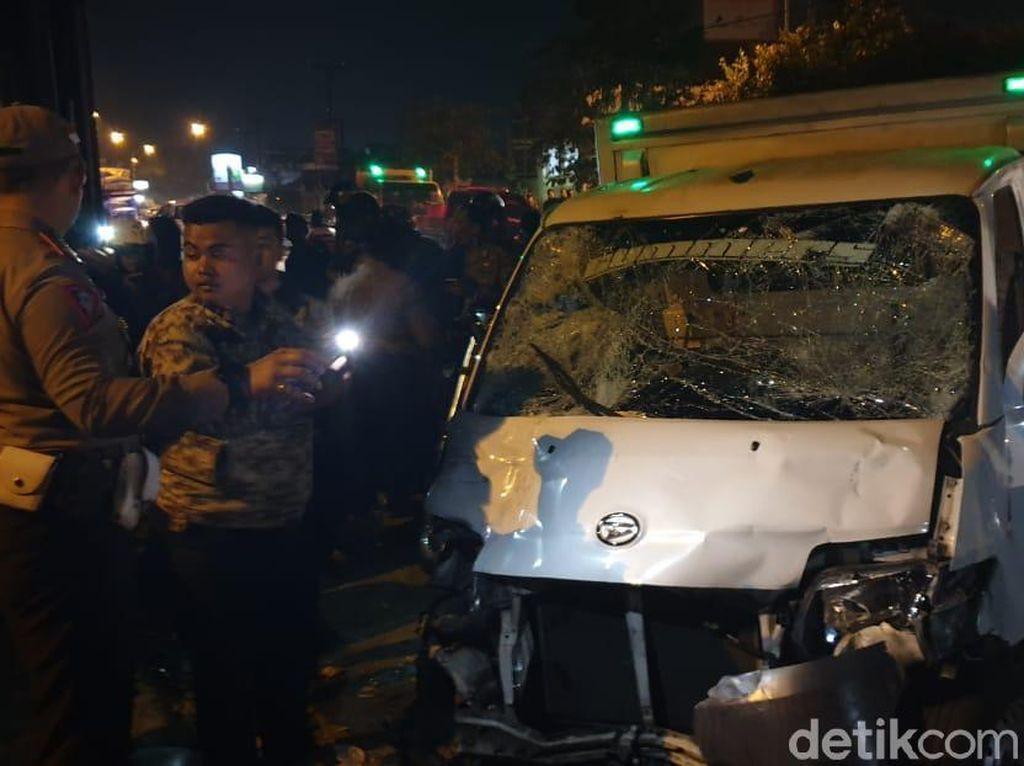 Tabrak 7 Personel Polda Jabar, Sopir Mobil Boks Jadi Tersangka