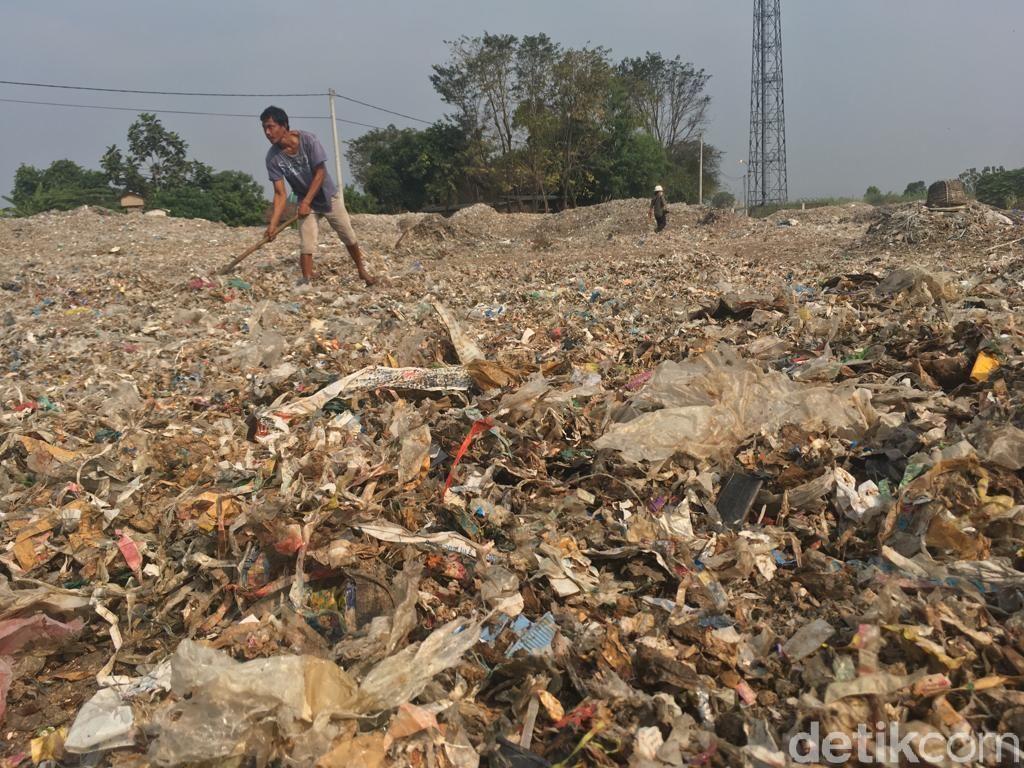 Mengais Rezeki dari Lautan Sampah Plastik