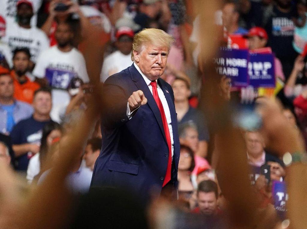 Heboh Komentar Rasis, Trump: Jika Mereka Tidak Suka, Biarkan Mereka Pergi