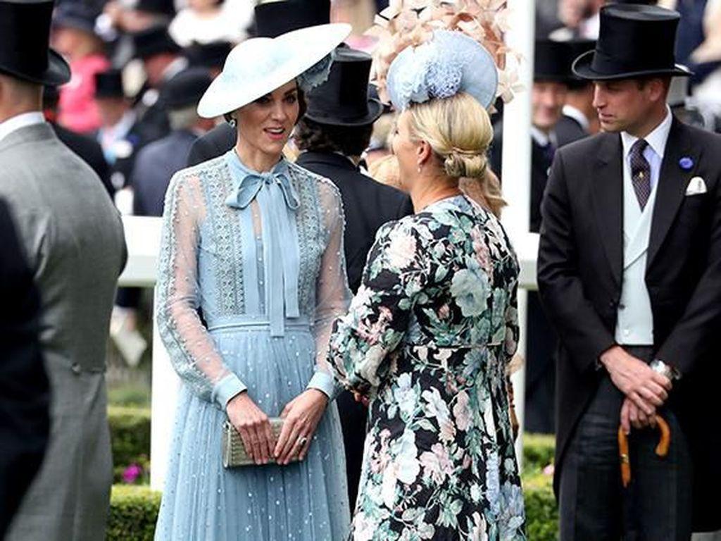 Foto: Adu Gaya Keluarga Kerajaan Inggris Hadiri Royal Ascot