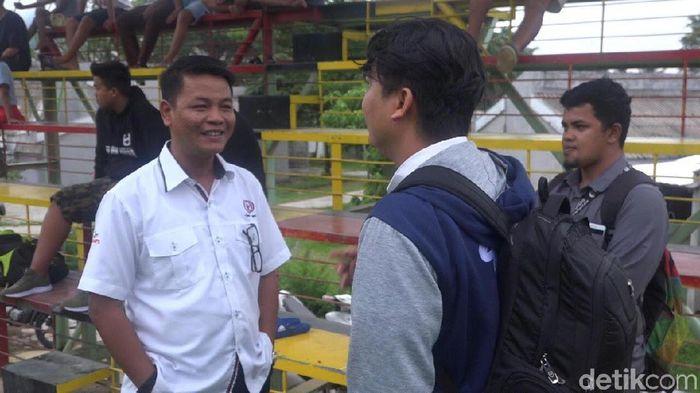 CEO Semen Padang FC, Rinold Thamrin (Sulthan Kampai/detikSport)